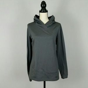 Under Armour Women's Grey Hoodie Jacket Size Large